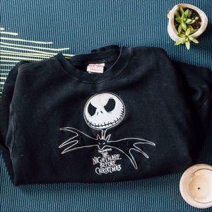 Vintage Nightmare Before Christmas sweatshirt